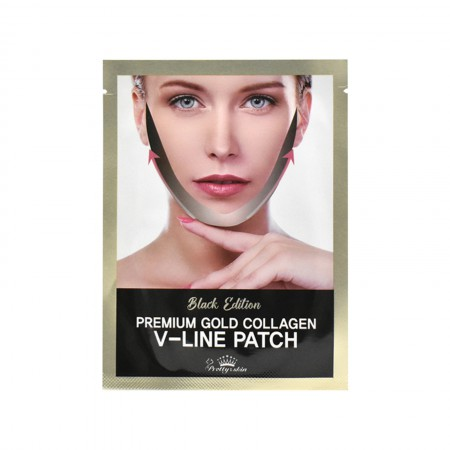 BLACK EDITION PREMIUM GOLD COLLAGEN V-LINE PATCH